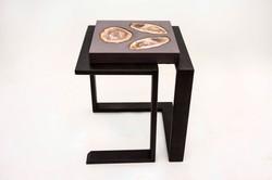 Cast Concrete & Steel Table