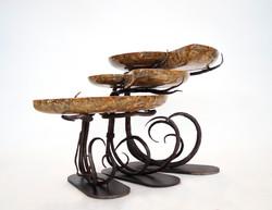 Ammonite & Steel Tables
