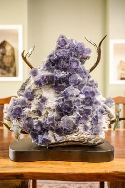 Fluorite Sculpture