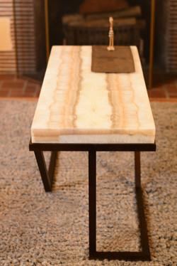Onyx & Steel Table