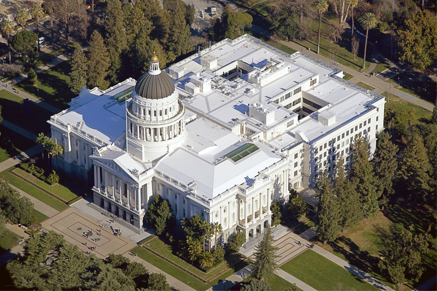 Capitol Aerial View