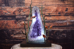 Amethyst Geode Lighting