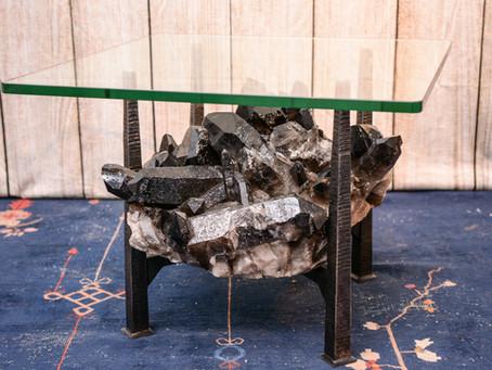 Black Quartz & Steel Table