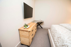 Custom Wood & Cast Concrete Desk