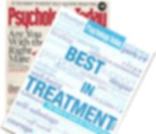 Psychology Today Magazine Best in Treatm