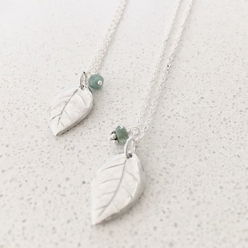 Lucky Leaf Necklace