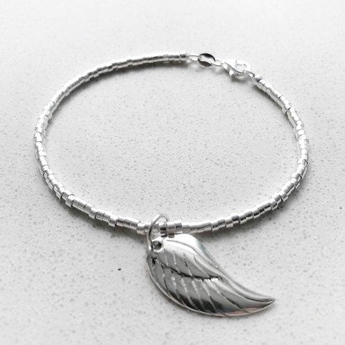 Angels Wing Charm bracelet