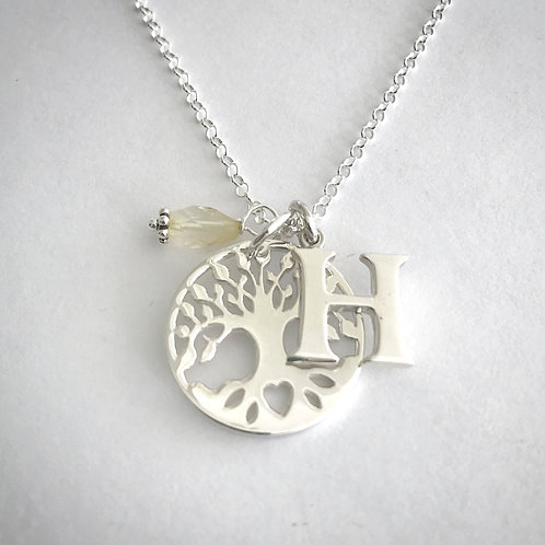 Personalised Tree of Life Necklaces