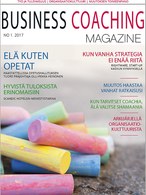 Business Coaching Magazine 1/2017