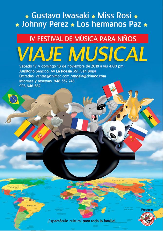 IV Festival de música para niños: Viaje musical