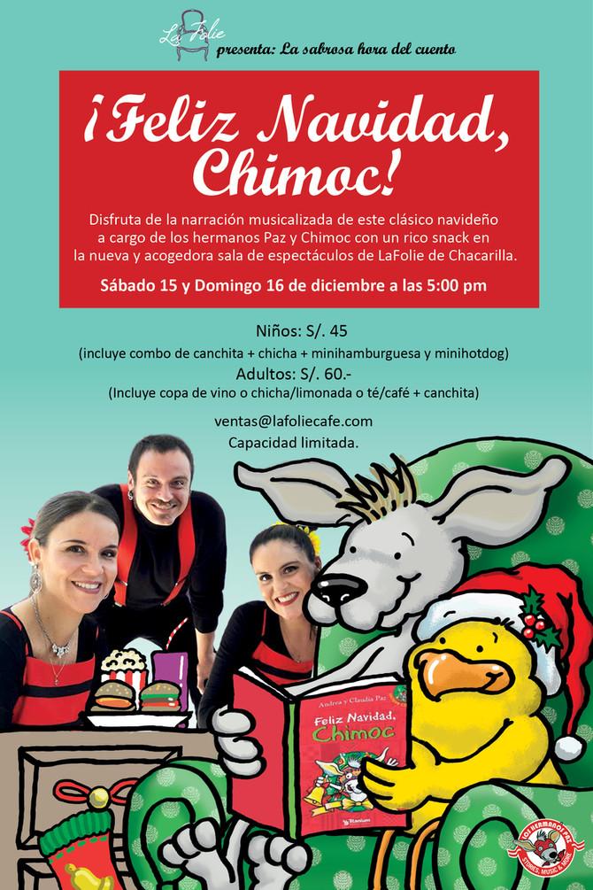 """Narración Musicalizada del cuento     """"¡Feliz Navidad, Chimoc!"""""""