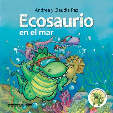 Ecosauro en el mar
