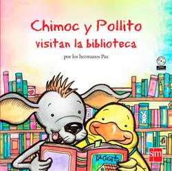 Chimoc-y-Pollito-visitan-la-biblioteca