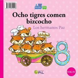 ocho tigres comen bizcocho