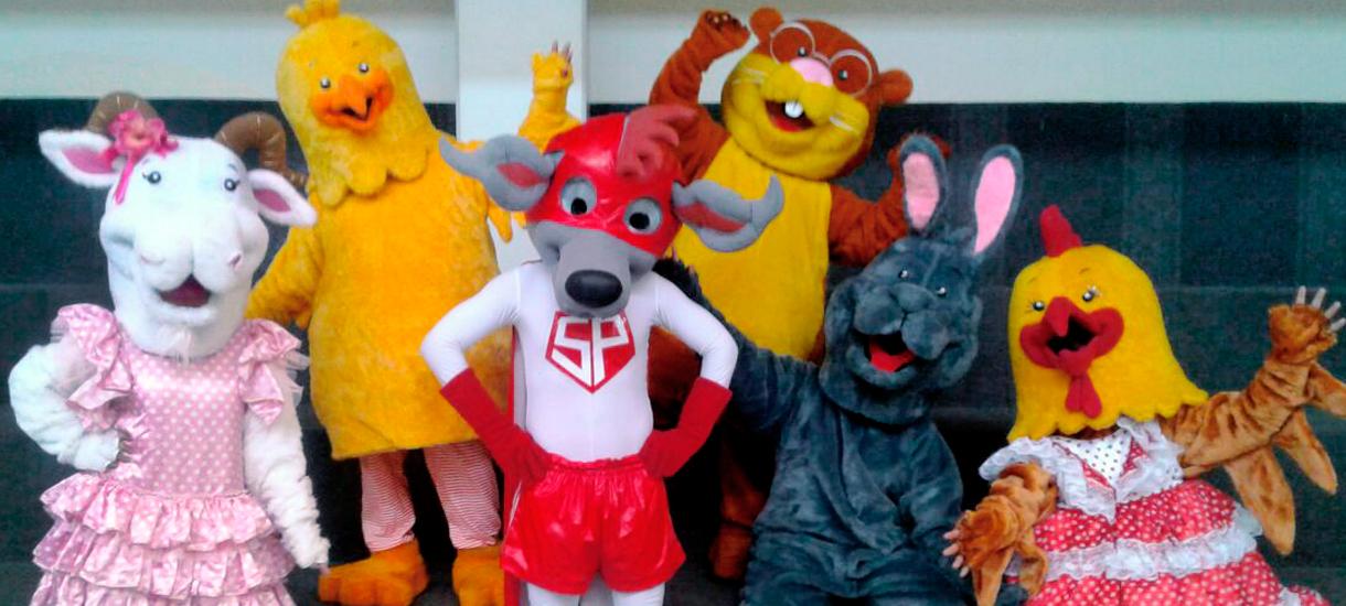 Chimoc y los amigos de la Colina
