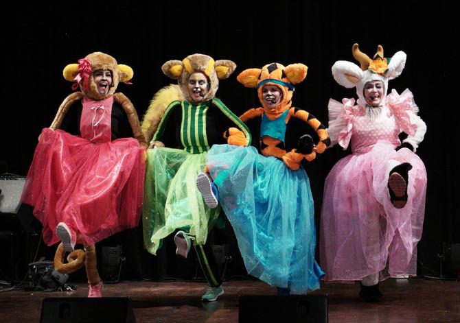 La Cabrita Comilona en el Teatro