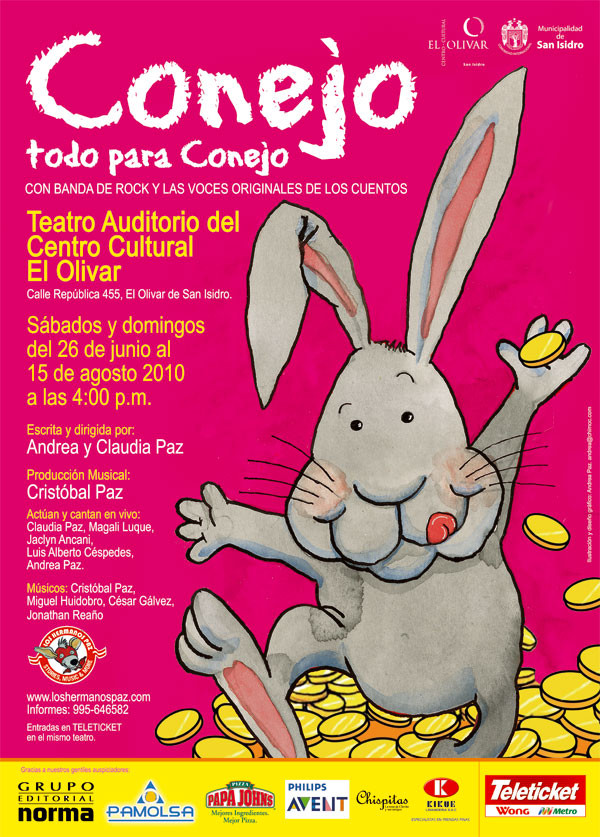Conejo, todo para Conejo