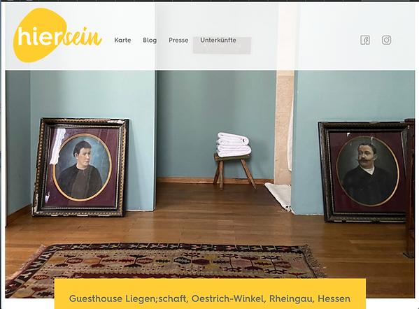 Guesthouse Liegenschaft- hiersein.de