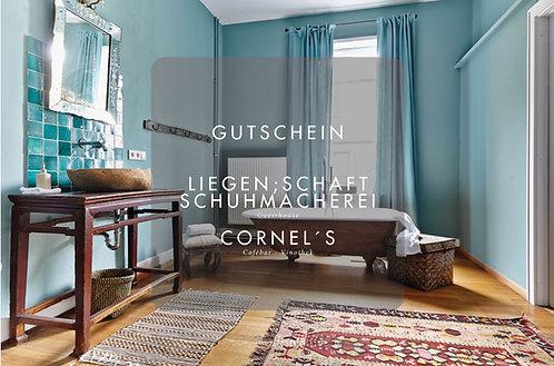 Gutschein LIEGEN;SCHAFT & SCHUHMACHEREI Guesthouse & CORNEL`S