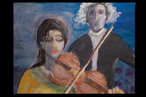 Violine & Dirigent
