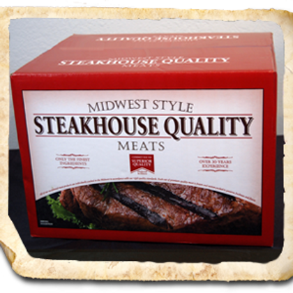 6 Pack Variety Steak Case
