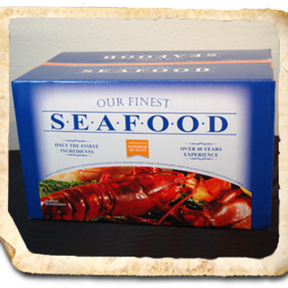 6 Pack Variety Seafood Case