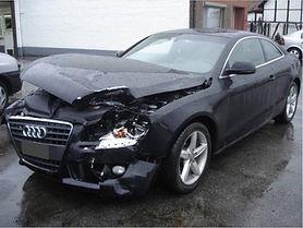 Beschadigde Audi A5