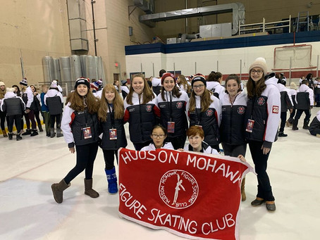 HMFSC Skaters Excel at EMPIRE STATE WINTER GAMES!