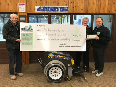 2018 Grant - Burntwood Curling Club