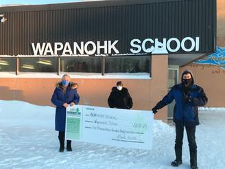 2020 Grant - Wapanohk School