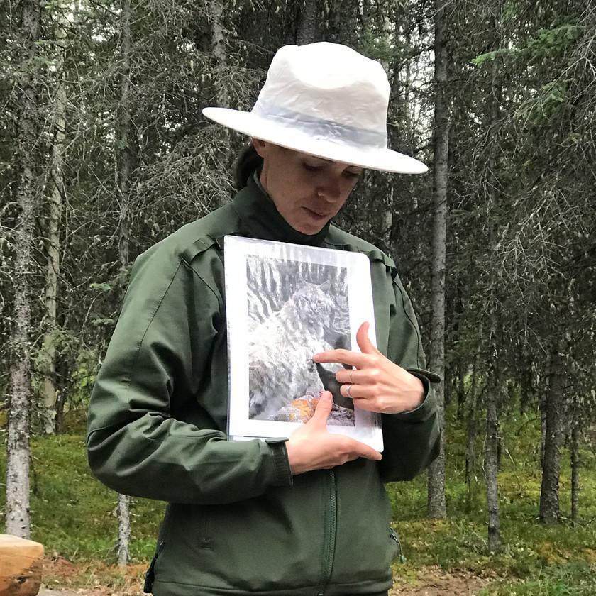 Ranger in Riley Creek Camp