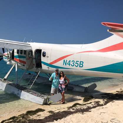 Charlie & me with the Seaplane