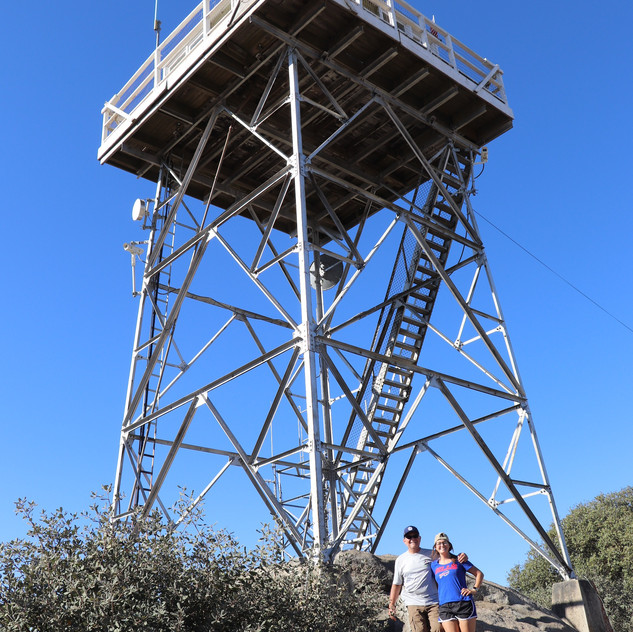 Dad & me at the lookout