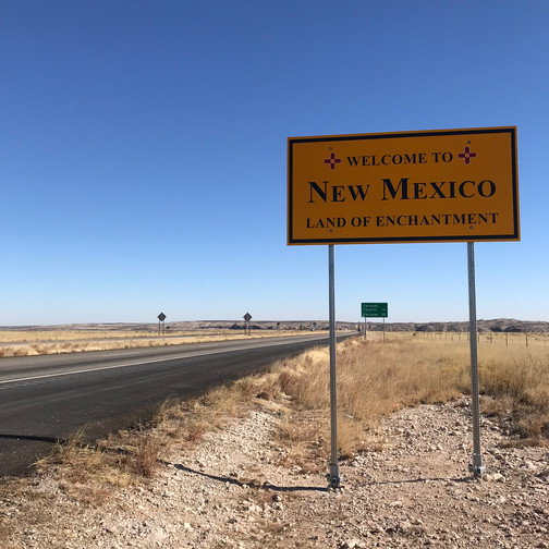 Welcome to New Mexico!