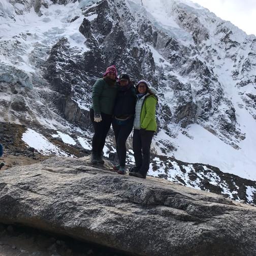 We made it up Salkantay Pass