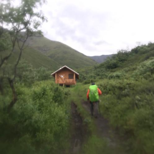 Caribou Creek Trail + Cabin
