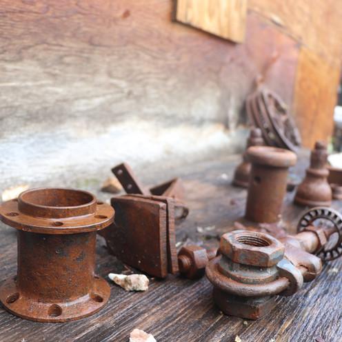Artifacts near Rambler Mine