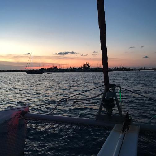 Heading Back to the Marina