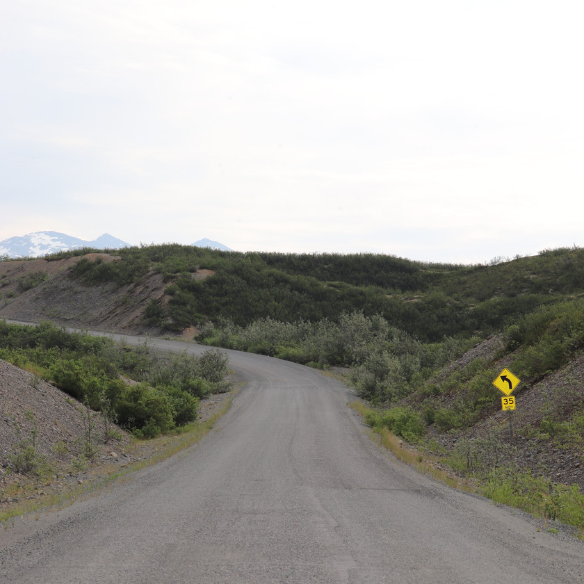 McCarthy Road Wrangell-S