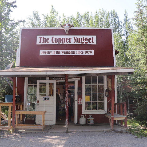 Building in McCarthy, Alaska - Wrangell-St. Elias National Park and Preserve