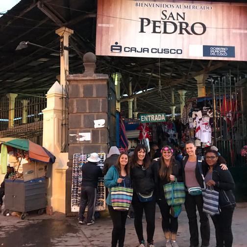 Shopping Complete! San Pedro Market
