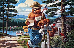 Smokey and his Letters US Forest Service