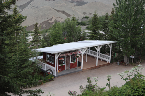 NPS Exhibit in Wrangell-St. Elias National Park and Preserve