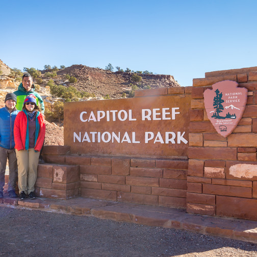 The Crew at Capitol Reef NP