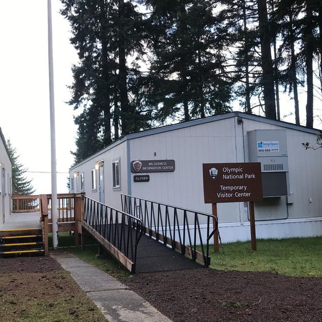 Temporary Visitor Center