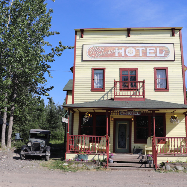 Ma Johnson's Historical Hotel, McCarthy, Alaska - Wrangell-St. Elias National Park and Preserve