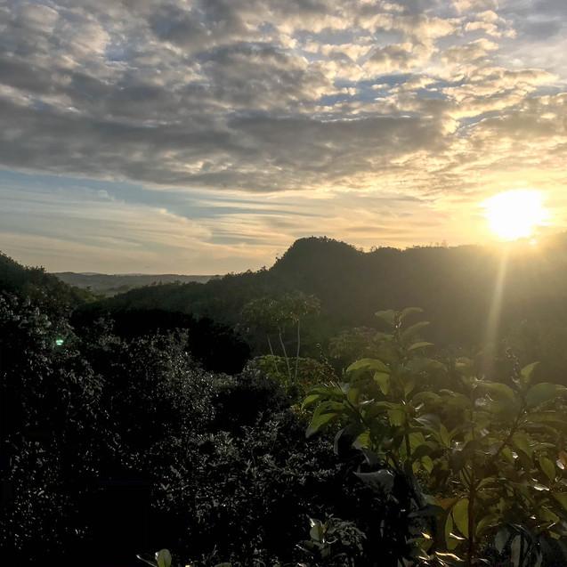 Beautiful Sunset in Vinales, Cuba