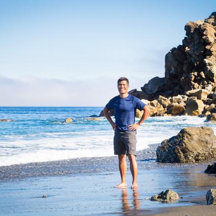 Derek at Starlight Beach
