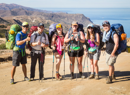 """Backpacking The """"New"""" Trans-Catalina Trail"""
