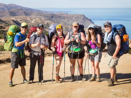 "Backpacking The ""New"" Trans-Catalina Trail"
